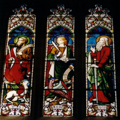 教堂玻璃w-j-8003
