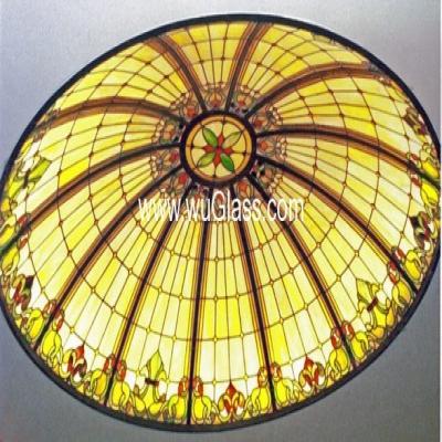 彩绘穹顶w-d-6002