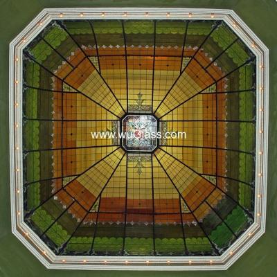 彩绘穹顶w-d-6008