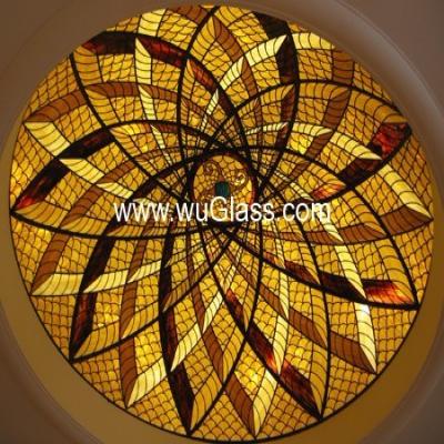 彩绘穹顶w-d-6012