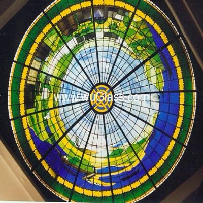 彩绘穹顶w-d-6016